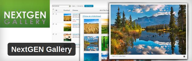 NextGEN Gallery Plugin - 9Blogging