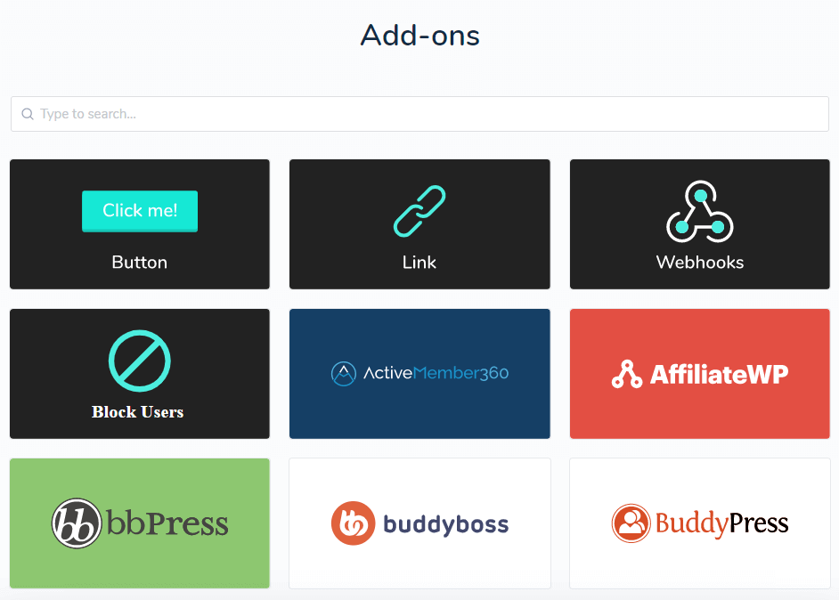 list-integrations