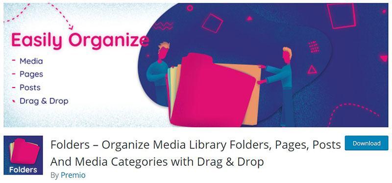 Folders WordPress Plugin from Premio